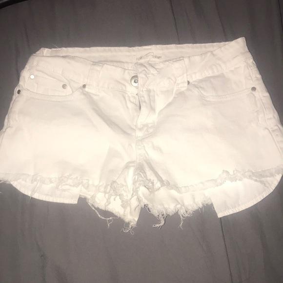 Forever 21 Pants - White forever 21 denim shorts
